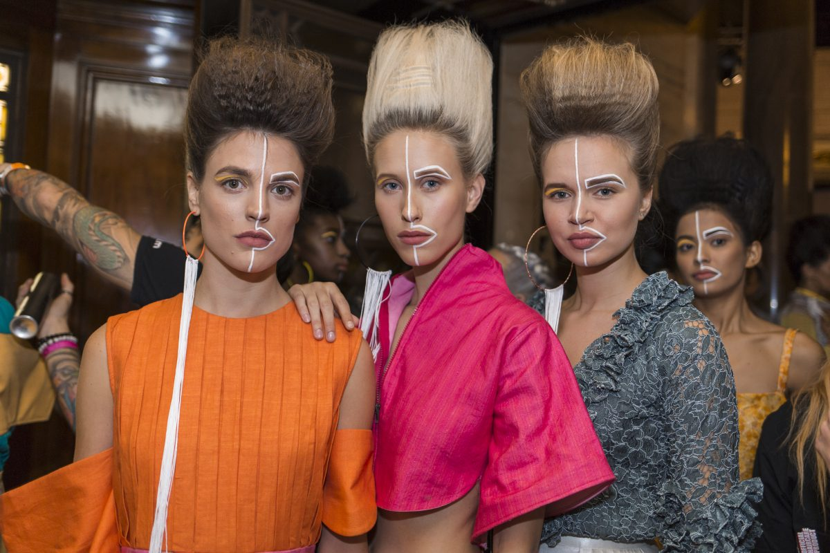 "<span class=""hot"">Hot <i class=""fa fa-bolt""></i></span> Backstage Photography @ LFW 