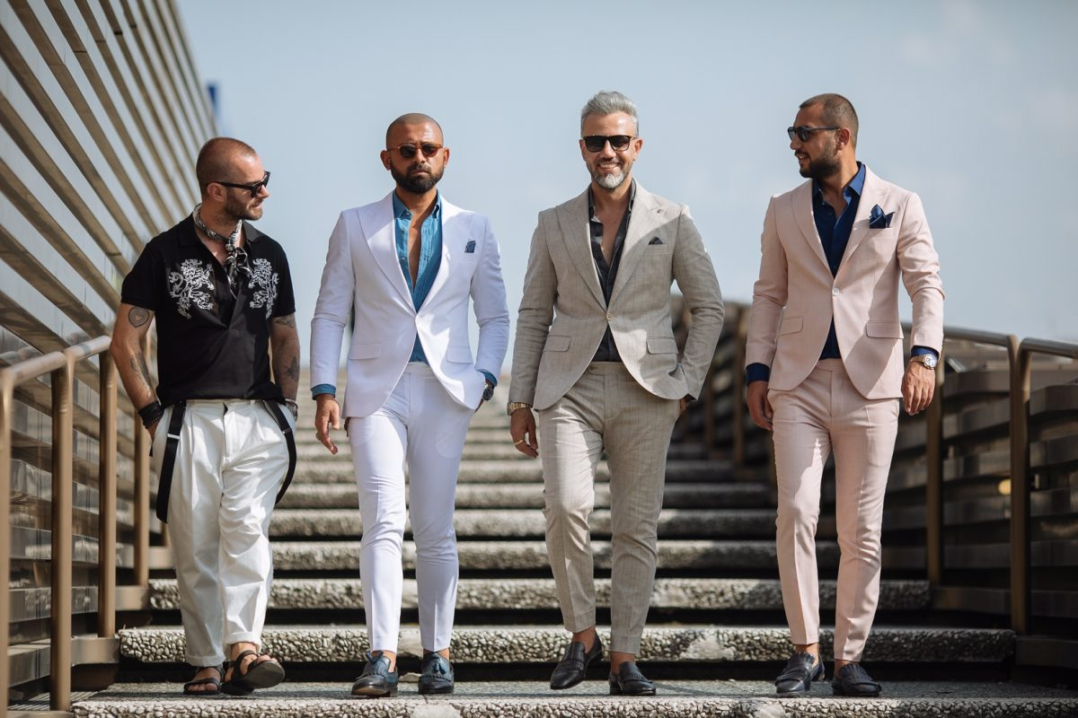 Pitti Uomo Street Style Florence Italy Fashion L Amour