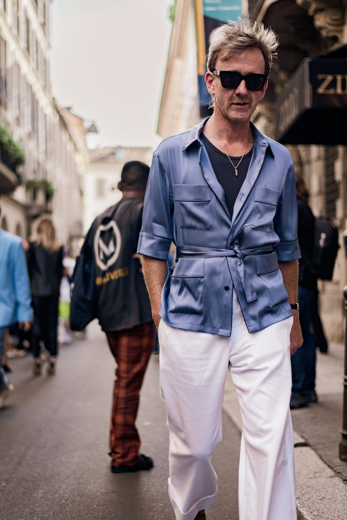 "<span class=""hot"">Hot <i class=""fa fa-bolt""></i></span> Milan men's Fashion Week 