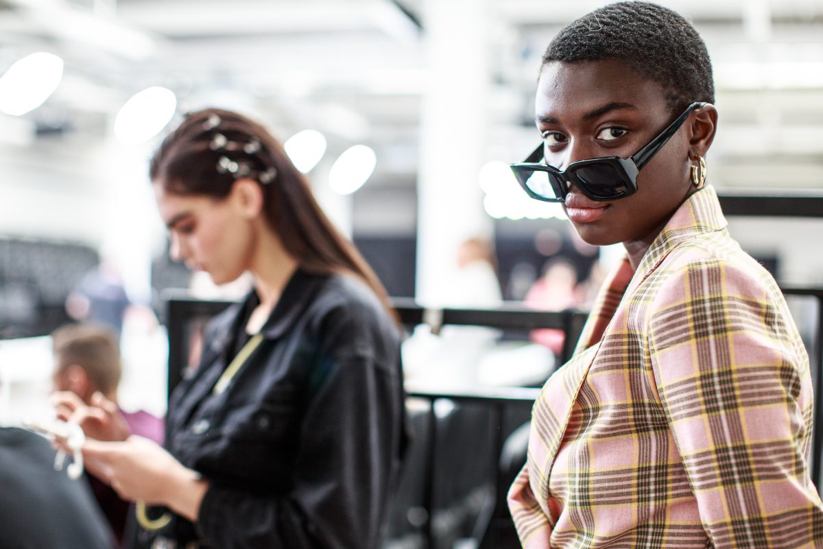 "<span class=""hot"">Hot <i class=""fa fa-bolt""></i></span> Backstage @ Graduate Fashion Week 